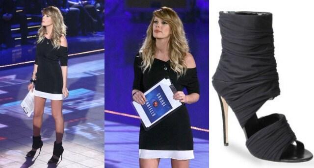 Alessia Marcuzzi look 16 puntata gf 12