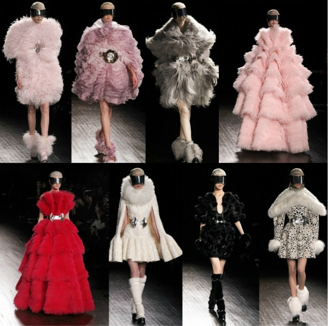 Alexander McQueen collezione Autunno/Inverno 2012-2013