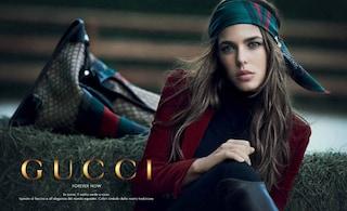 "Charlotte Casiraghi testimonial ""forever"" per Gucci"