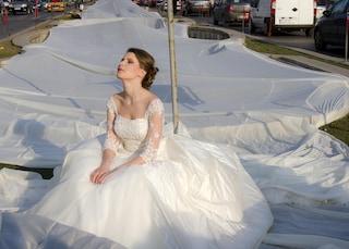 L'abito da sposa più lungo del mondo [VIDEO]