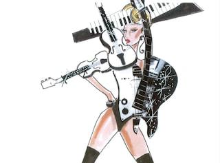 Armani disegna i costumi per il Tour 2012 di Lady Gaga