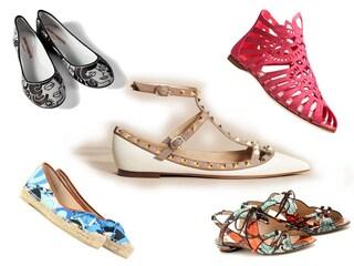 Ballerine e sandali bassi per la Primavera/Estate 2012