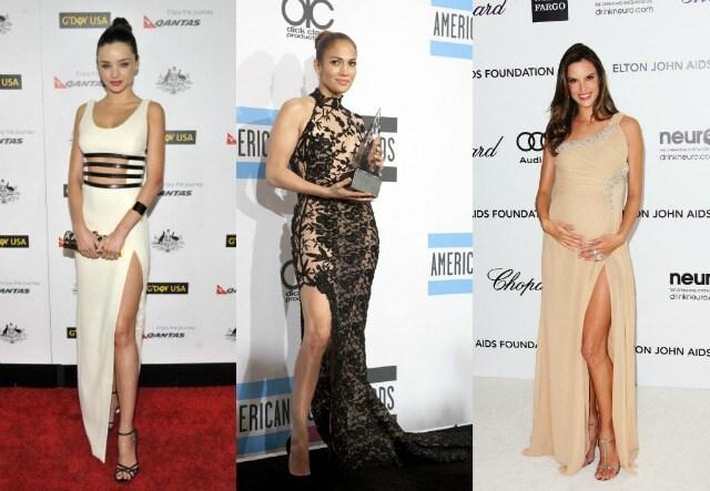 Miranda Kerr Jennifer Lopez Alessandra Ambrosio