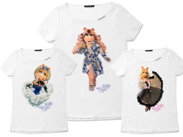 Miss Piggy dei Muppets modella curvy per Pinko 4e6a744c7ae