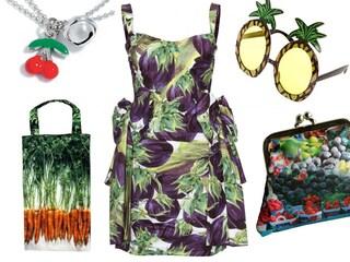 Il Veggie Style: vestirsi con frutta e verdura
