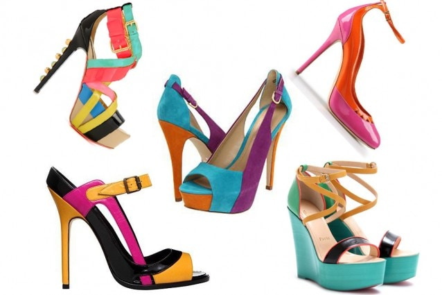 Scarpe-color-block-Primavera-Estate-2012