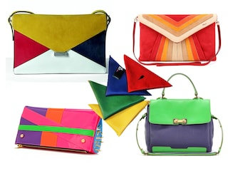 Borse e accessori in color block