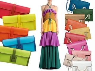 5 regole per creare un look in color block