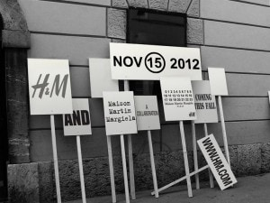 H&M e Maison martin Margiela