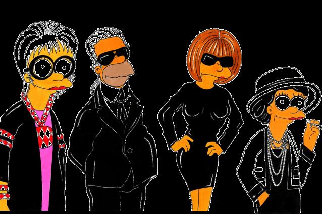 Simpsons Icone fashion