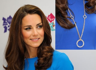 Kate Middleton e la collana olimpica da 70.000 dollari