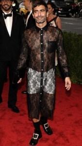 Marc Jacobs Met Gala 2012