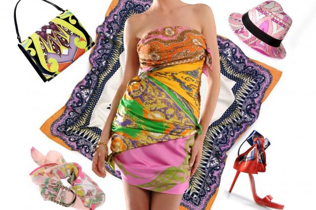 abiti ed accessori foulard