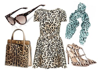 Come creare un look savage con abiti e accessori animalier