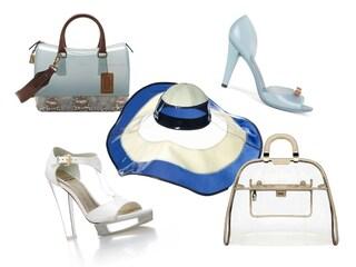 Una moda di plastica: scarpe, borse e accessori da spiaggia