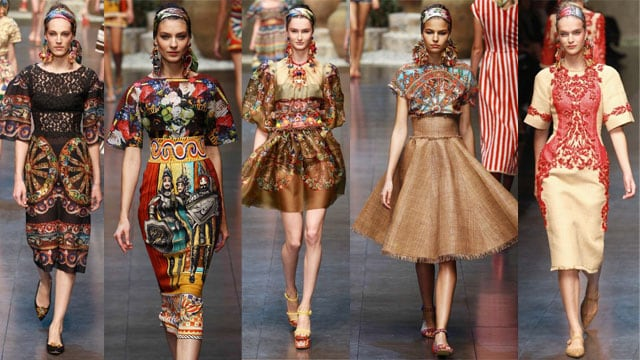 779a407b40 Sicilia mon amour, la collezione tributo di Dolce&Gabbana
