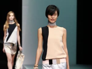 Emporio Armani - Runway - Milan Fashion Week Womenswear S/S 2013