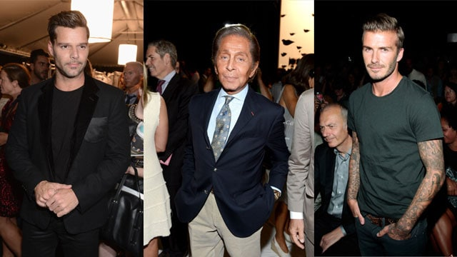 Ricky-Martin,-Valentino-e-David-Beckham-New-York-Fashion-Week