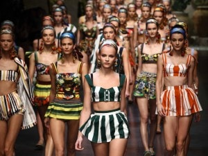 Sfilata Dolce e Gabbana - Milano Fashion Week