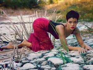 Rihanna sulla copertina di vogue america