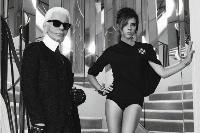 Victoria Beckham è la nuova musa di Karl Lagerfeld