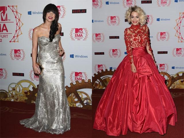 I look di Carly rae Jespen e Rita Ora agli MTV EMA 2012