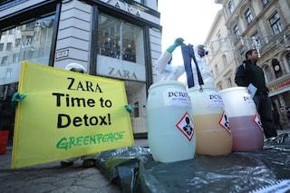 Greenpeace denuncia l'uso di sostanze tossiche nei vestiti dei grandi marchi