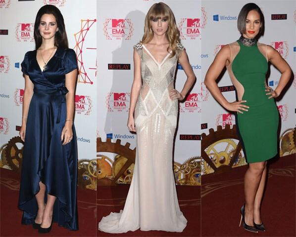 Look-Lana-del-rey-Taylor-Swift-Alicia-Keys-MTV-EMA-2012