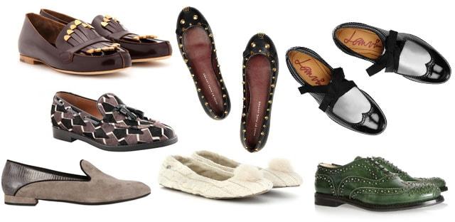 ballerine e slippers autunno inverno 2012 2013