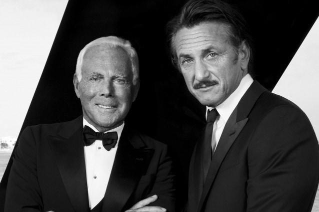 Giorgio Armani e Sean Penn, insieme per sostenere le popolazioni di Haiti