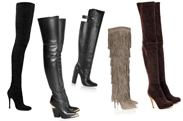 Stivali alti per l'inverno 2012 2013