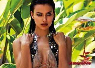 Sexy Irina in costume per Agua Bendita