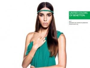 Lea T, modella trans, è uno dei volti della nuova campagna di Benetton