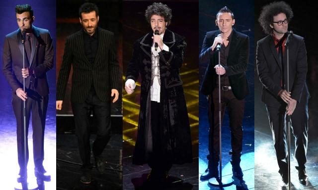 I look dei cantanti per la finale di sanremo 2013