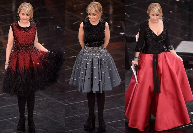 I look di Luciana Littizzetto per la finale di sanremo 2013