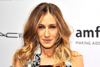 Sarah Jessica Parker in abito Margiela all'amfAR Gala di New York