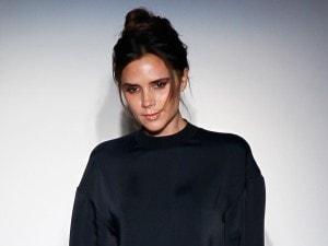 Victoria Beckham sfila alla Settimana della Moda di New York