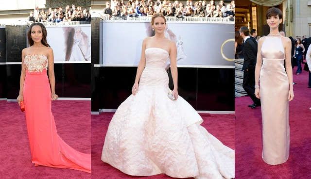 look giovani star sul red carpet oscar 2013