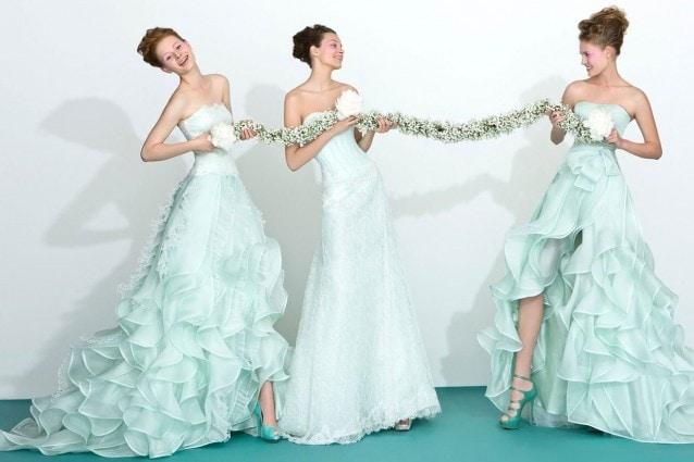 833f3e95ec343d Abiti da sposa colorati: tendenze originali per il matrimonio