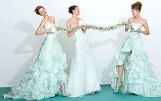 Abiti da sposa colorati: tendenze originali per il matrimonio