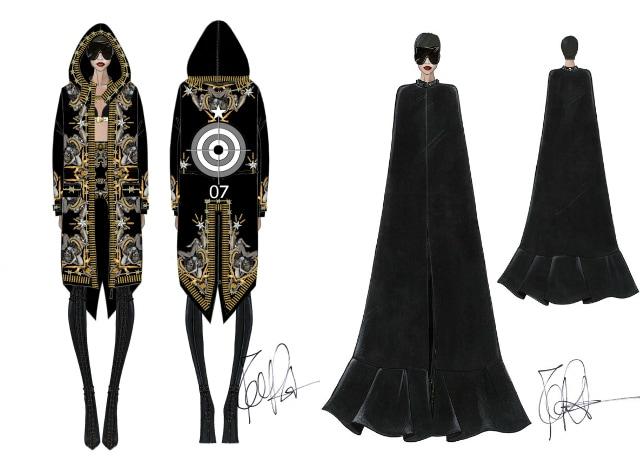 look Givenchy per Rihanna