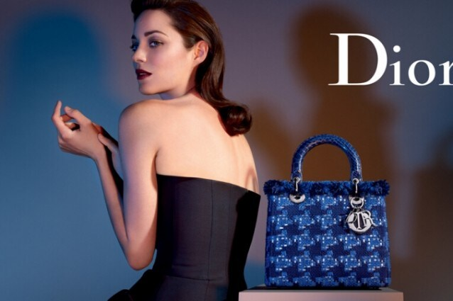 Marion Cotillard in versione femme fatale per Dior