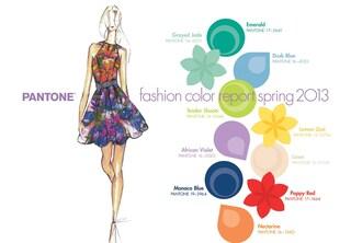 I colori di tendenza per la primavera 2013 secondo Pantone