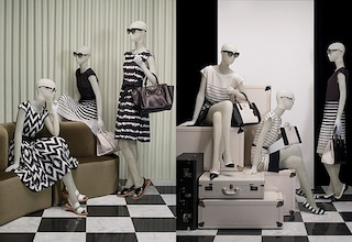Prada in bianco e nero, la capsule collection per la primavera