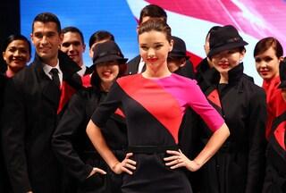 Miranda Kerr: dalla lingerie sexy alle uniformi da hostess