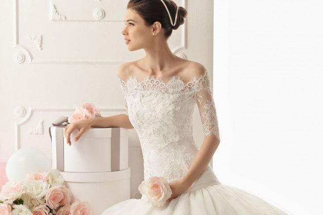 Vestiti In Pizzo Da Sposa.Abiti Da Sposa In Pizzo Per Un Matrimonio Romantico