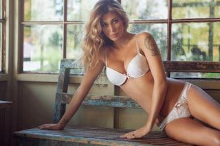 Belen Rodriguez, sexy in intimo a pochi giorni dal parto