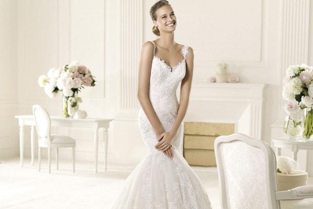 Gli abiti da sposa a sirena