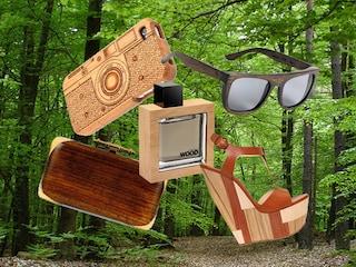 Wood Passion: la nuova moda degli accessori in legno