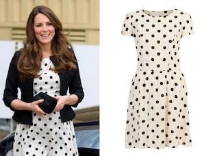 "Kate Middleton ritorna ai look ""economici"""